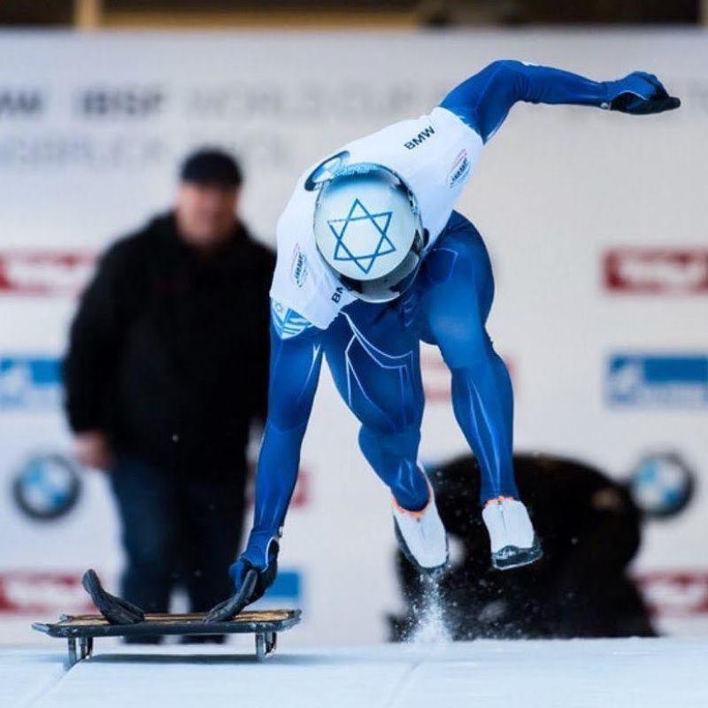 Los atletas de trineo de Israel tienen como objetivo llegar a donde ningún israelí ha ido antes