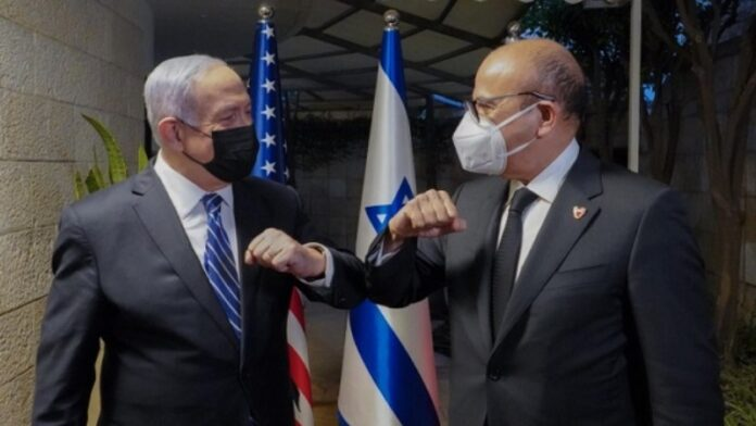 El primer ministro israelí recibe al ministro de Relaciones Exteriores de Baréin
