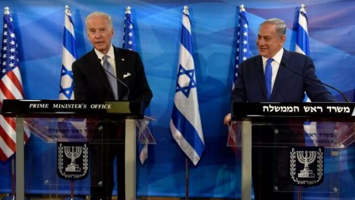 Netanyahu dice que no tratará al demócrata Biden de manera diferente a como trató a Trump