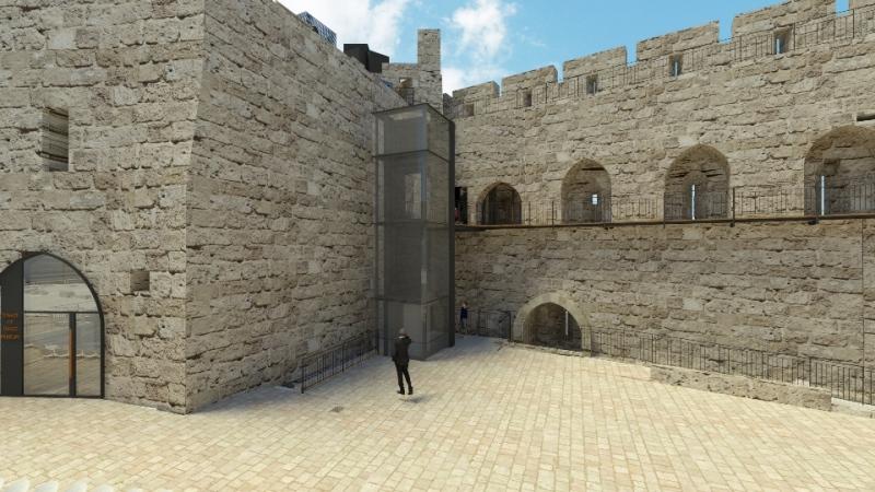 Mientras la Torre de David mira hacia el futuro, las excavaciones reescriben el pasado de la antigua ciudadela