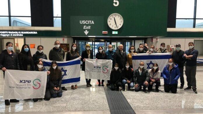 Equipo médico israelí ayuda en la batalla del COVID-19 en el norte de Italia