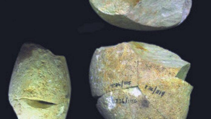 Herramienta anterior a los humanos modernos identificada en el norte de Israel