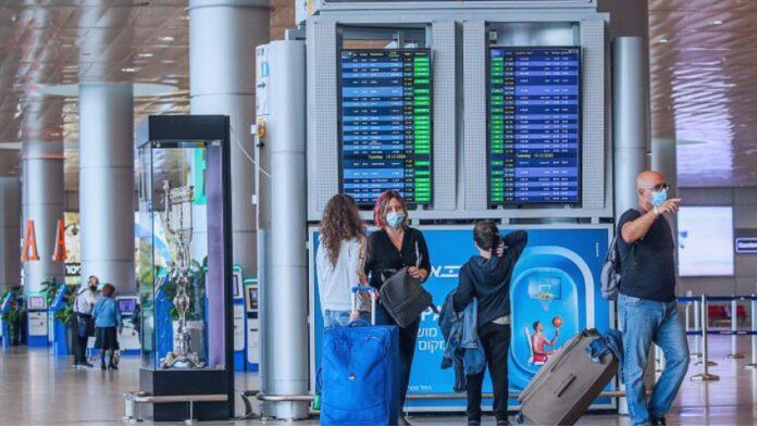 Preocupado por la nueva cepa de COVID-19, Israel cierra los cielos a los no nacionales