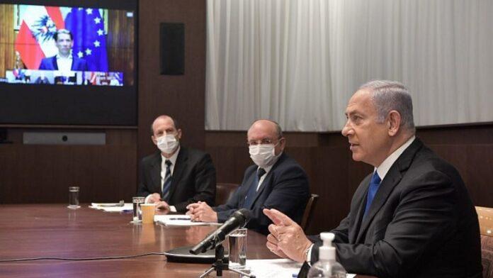 Netanyahu insta a los líderes mundiales a 'unir' esfuerzos científicos y económicos en medio de la pandemia