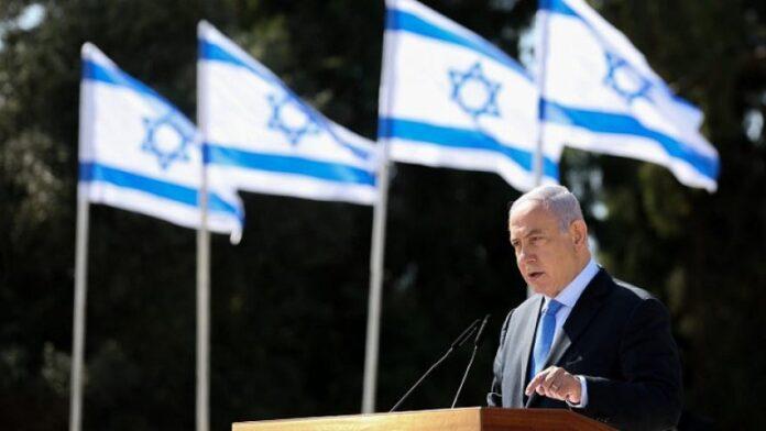 En el memorial del héroe sionista, Netanyahu invoca a Purim para amenazar a Irán