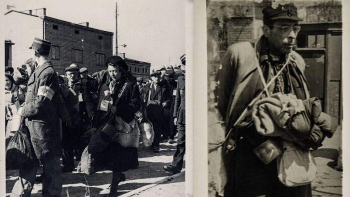 Fotos de prisioneros judíos que muestran la horrible vida en el gueto de Lodz donadas al museo de Boston