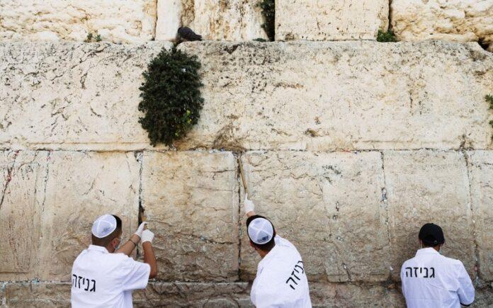 ¿Cómo pusieron los judíos notas en el Muro Occidental durante COVID?