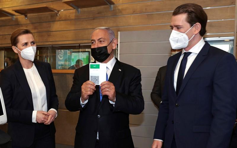 En una visita a Israel, los líderes de Dinamarca y Austria acuerdan el desarrollo conjunto de una vacuna