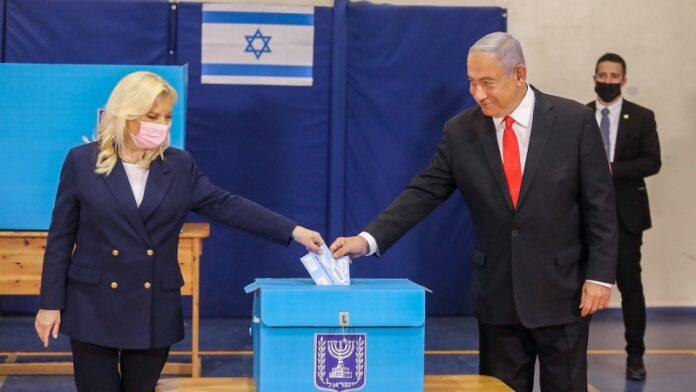 Netanyahu lidera por estrecho margen en las encuestas a boca de urna en las elecciones israelíes