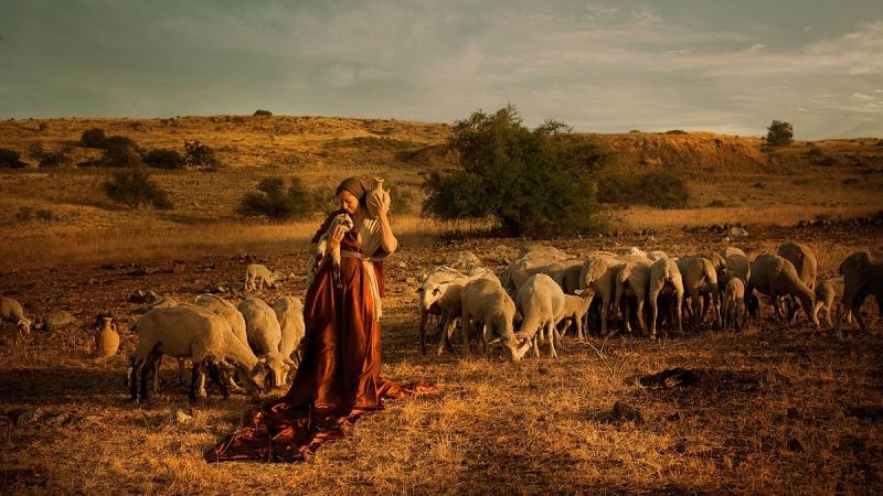 Artista israelí da vida a la Biblia
