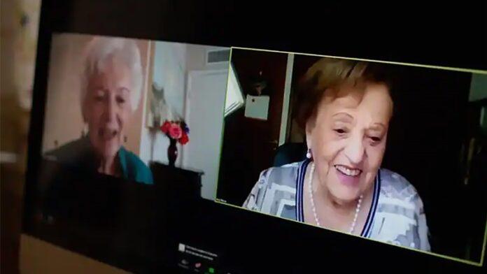 Sobrevivientes del Holocausto y amigas de la infancia se reencuentran después 80 años