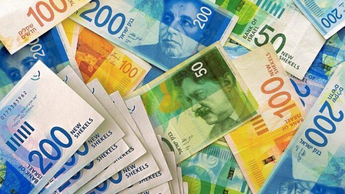 El salario mensual promedio en Israel se eleva a 36.500 NIS