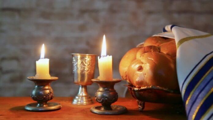 Encendido de velas de Shabat