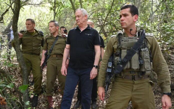 Gantz: Si Hezbolá ataca a Israel, tendrá graves consecuencias