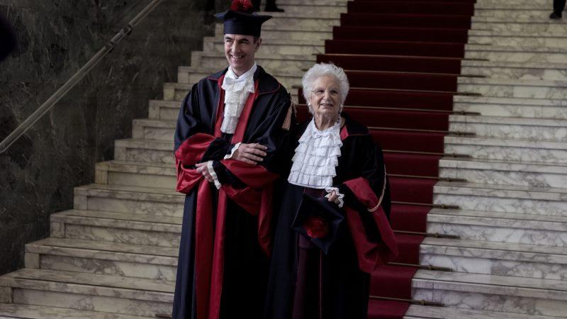 Esta sobreviviente del Holocausto de 90 años es una 'senadora vitalicia' en su Italia natal. También recibe constantes amenazas antisemitas