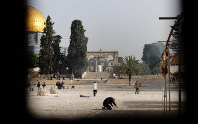 El Día de Jerusalén es sacudidas por cohetes y disturbios violentos