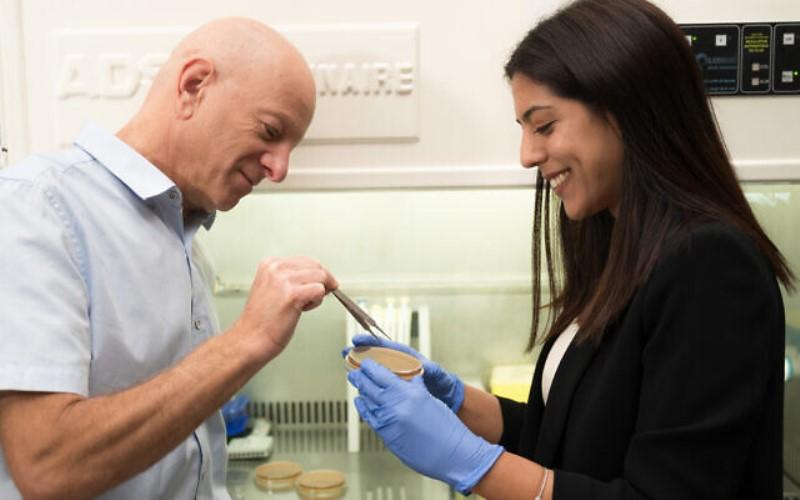 Científicos israelíes desarrollan pequeñas 'pinzas' ingeribles para su uso contra bacterias