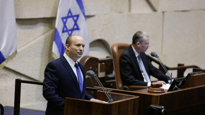 Discurso de Naftali Bennett en la Knesset