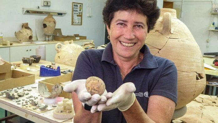 Huevo de gallina intacto de 1.000 años descubierto en el centro de Israel