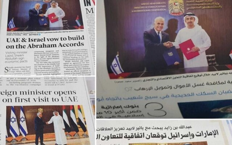"""Lapid inaugura el consulado de Dubái: """"Simboliza nuestra capacidad para cambiar el mundo"""""""