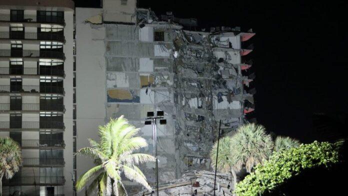 Se temen muertes masivas en el derrumbe de un edificio en un área fuertemente ortodoxa cerca de Miami