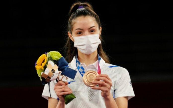 Avishag Semberg obtiene la primera medalla de Israel en los Juegos Olímpicos de Tokio
