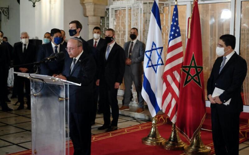 Israel y Marruecos en conversaciones para realizar una visita oficial de Lapid a Rabat
