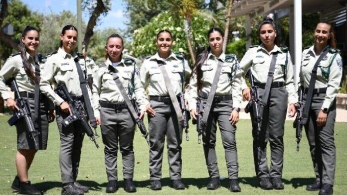 Número récord de mujeres para convertirse en oficiales de la Policía Fronteriza de Israel