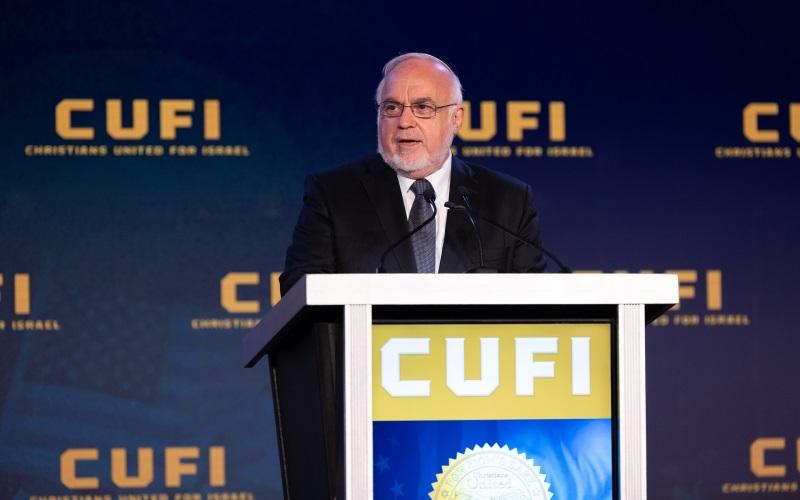 """En la reunión de CUFI, cristianos y judíos por igual prometen luchar contra el """"antisemitismo económico"""" del BDS"""