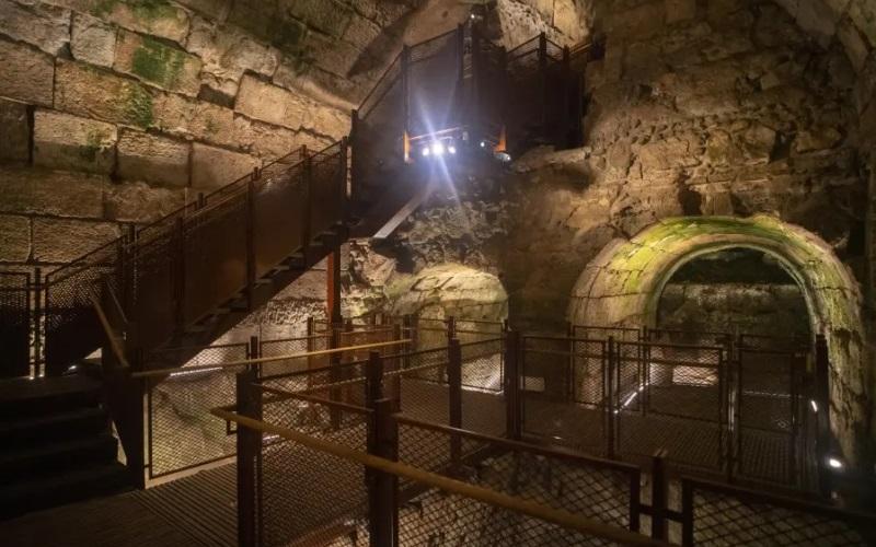 Espléndido edificio del período del Segundo Templo encontrado por el Muro Occidental en Jerusalén