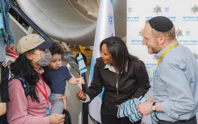 Israel recibe un récord de 1.900 olim en agosto