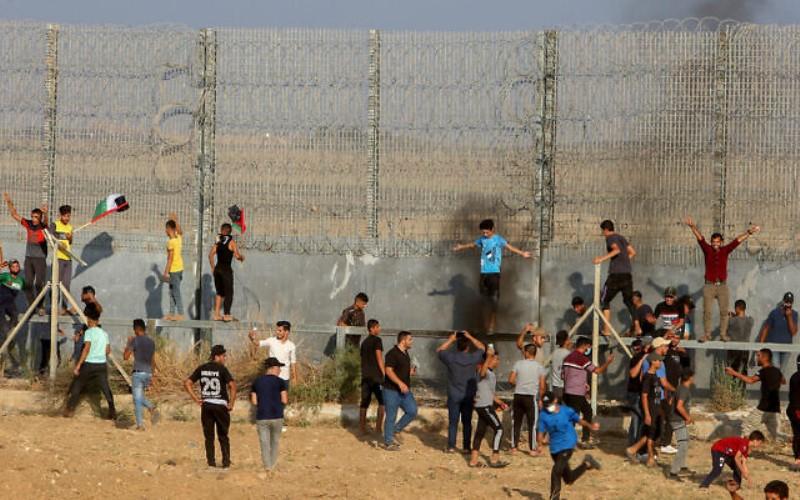 Oficial de la policía fronteriza baleado en la frontera de Gaza muere a causa de las heridas