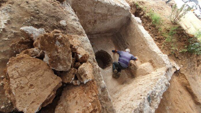 Proyecto de construcción desentierra historia antigua en un suburbio de Tel Aviv