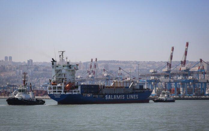 Israel inaugura la terminal portuaria de Haifa administrada por China, en un probable impulso para la economía