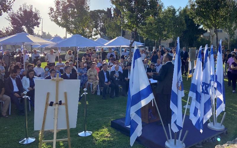 Jerusalén dedica plaza al diplomático japonés que salvó a miles de judíos