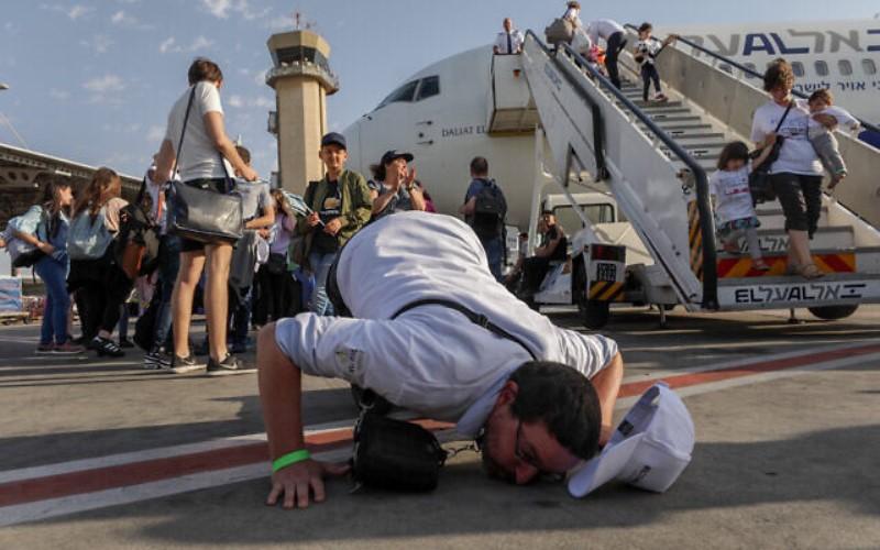 Aumento del 31% en la inmigración judía a Israel en lo que va del año