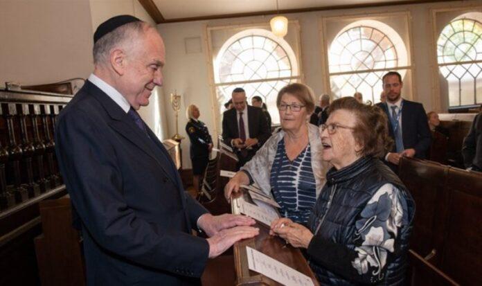 Líderes judíos y suecos se reúnen antes del foro mundial contra el antisemitismo