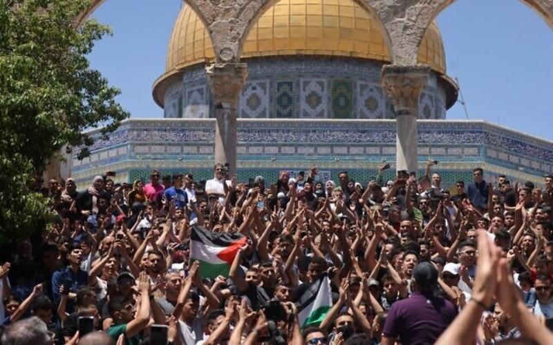 Mientras la oración judía irrita a los musulmanes, el ministro de policía advierte sobre el 'estallido' del Monte del Templo